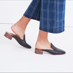 Madewell The Willa Black Loafer Mule Size 5